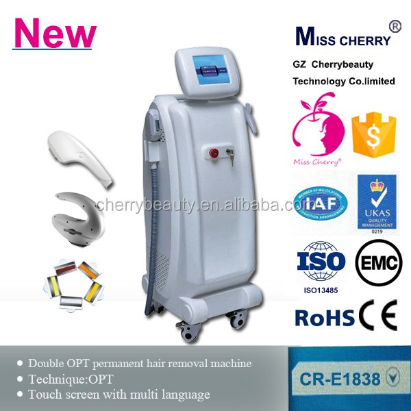 natural permanent cheek hair removal ipl depilation elight shr skin beauty machine with water cycle cooling system