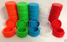 Fashion silicone customized bho oil container,Non stick high quality custom silicone rubber container for concentrate,wax oil