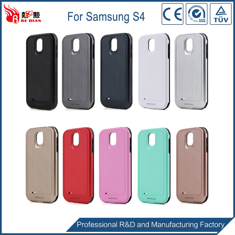 China manufacturer two in one phone cover for samsung galaxy s4