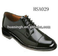 shiny leather Italy oxfords style high-shine military shoes for men