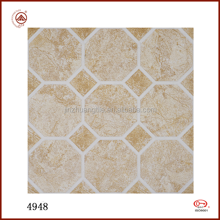 New Design Sexangle Pattern Cheap Ceramic Anti slip Granite Floor Tile
