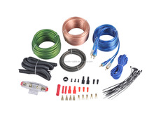 8Ga amp wiring kit car audio amplifier installation wiring kits