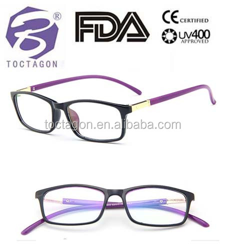 cheap optical frame plastic 2016 lastest design spectacle eyewear unisex optical plastic &metal frame