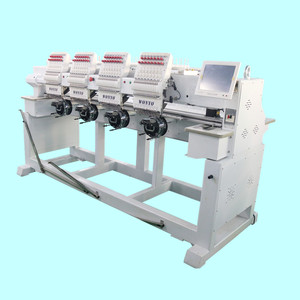 Tajima Style High Speed 4 Head Computerized Cap Embroidery Machine 9/12/15 Colors Available to add Cording and Sequin