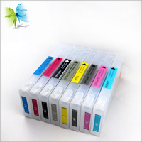 Wholesale Price 350ml T604 Cartridge with Reset Chip for Epson 7800 9800 7880 9880 Refill Ink Cartridge