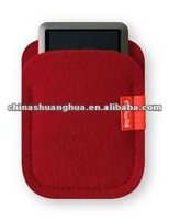 2013 Red Color Cute&Fancy Felt Cell Phone Case