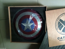 "wholesale 23"" 1:1 THE CAPTAIN AMERICA ALUMINIUM ALLOY shield FOR COSPLAY DP003"