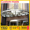 quality glass and awning & copper awnings & porch canopies