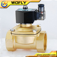 2 way solenoid valve with explosion-proof coil for lpg and natural gas