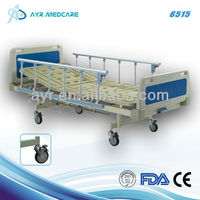 Single crank manual home care hospital bed AYR-6515