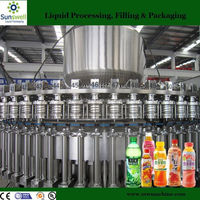 Small beverage factory Automatic apple juice filling line and plant