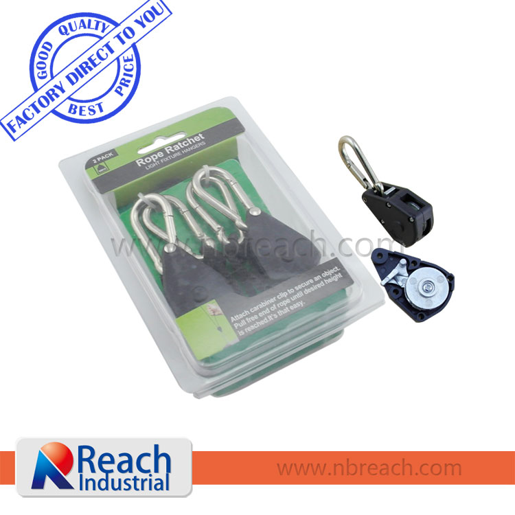Wholesale Garden Supplies Rope Ratchet Light Hanger