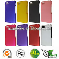 hot sell mobilephone accessory hard PC case with rubber coating for Blackberry Q5