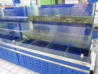 APEX custom make supermarket large commercial live blue crab tanks
