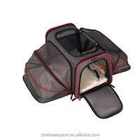 mesh folding big and freely space ventilated cat and dog carrier