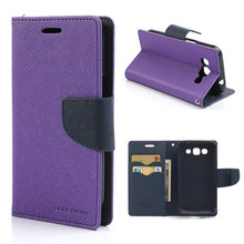 Leather Cell Phone Cover Fancy Case For Moto E