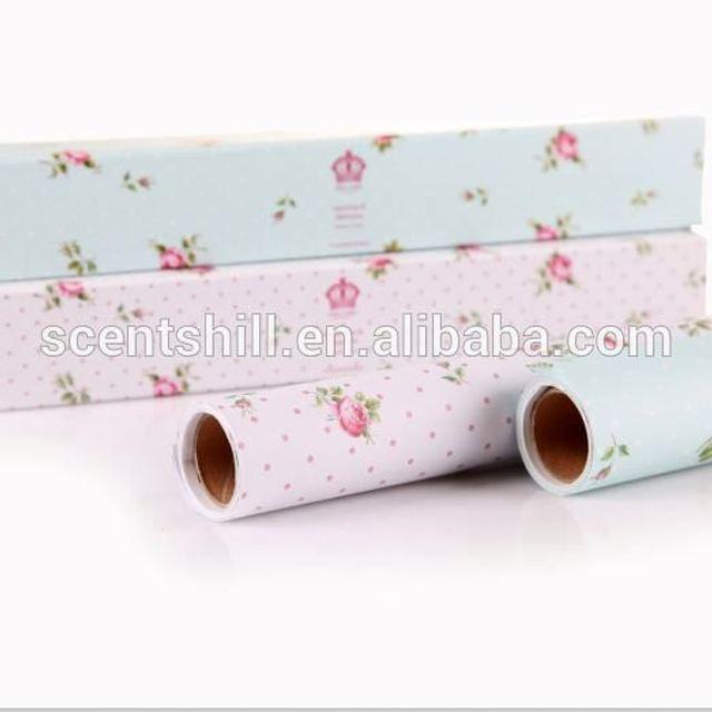 New design custom fragrance paper scented drawer liner