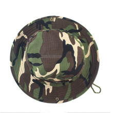 China Wholesale Most Popular 100% Cotton Camouflage Military Fishing Bucket Hat