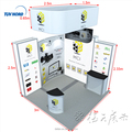 Detian Offer China suppliers Aluminum Frame Exhibition Portable Booth Design 3x3
