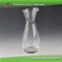 Hot water jug wholesale whiskey decanter glass canister