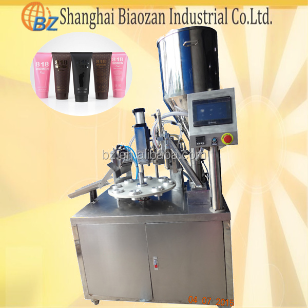 manual diameter 10-38mm hot air tube filling sealing machine