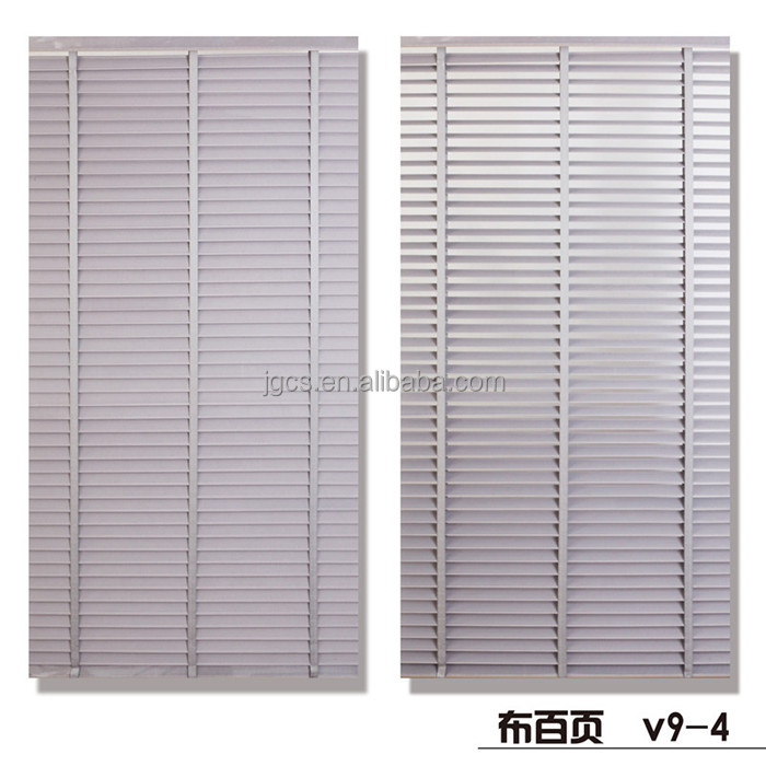 2015 hot window mini blinds internal/polyester window louver shutters