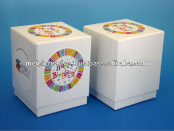 Two-Piece Chipboard Box, Favor Gift Box
