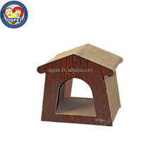 QQPET Factory New Design Cat Scratcher Lounge Board For Indoor Corner Scratching Post
