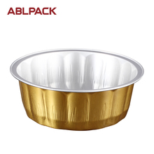 Packing Food Use Aluminium Foil Baking Tart Container