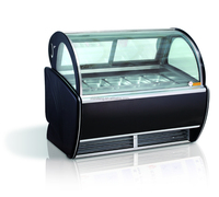 italian Used ice cream gelato popsicle display freezers (CE approved)