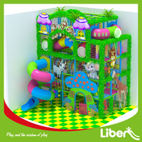 safety indoor children's playsets with slide for kids daycare centre, children's soft playsets equipemnt