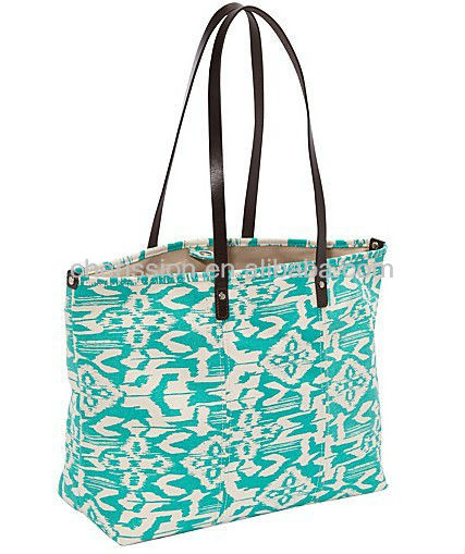 flower printing tote bags for promotions