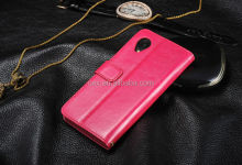 PU Leather Ultra Thin Slim Phone Case Cover For LG Google Nexus 5 LG E980 D820