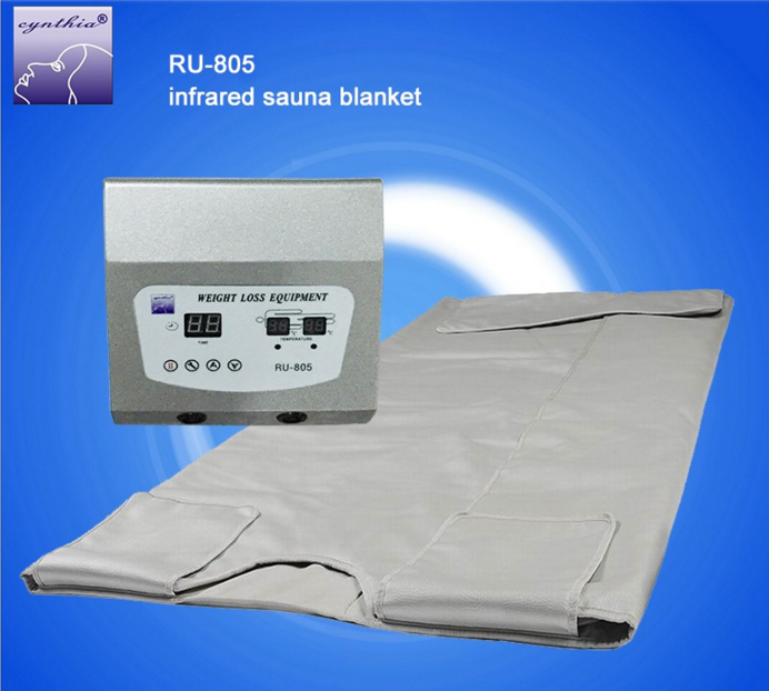 Portable Weight loss Sauna Waterproof Infrared Blanket/Far Infrared Sauna Blanket Ru805