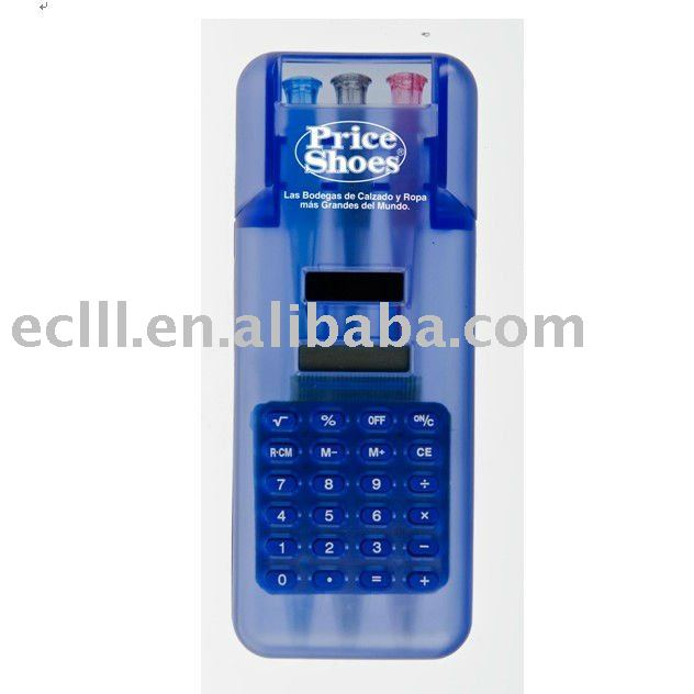 Plastic promotion stationery Calculator for students