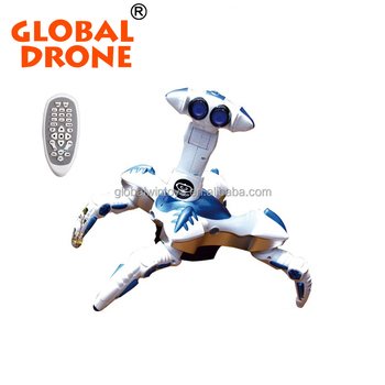 GLOBAL DRONE Intelligent four-legged can dance ultimate rc monster toy robot TT388 for sale
