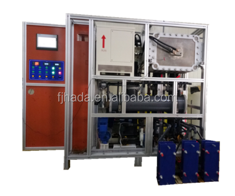 15% bleach liquor productin system by membrane electro of salt in factory for exhibition