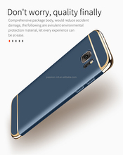 Cover case for samsung s7, Electroplated Removable 3in1 Shield Back Cover Case for samsung galaxy s7 edge phone cases