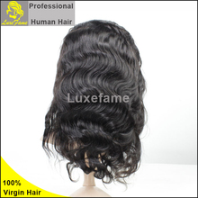 Luxefame high feedback human hair u part wig white women lace wigs