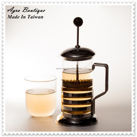 Nice taste, Jasmine flavor, French press version, Roasted brown rice