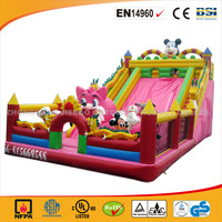 2016 Cheap Animal Inflatable Bouncer For Sale/Hot Sale Commercial Use Bouncer With Slide/High Quality Slide Bouncer For Rental