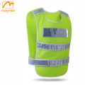 Custom High Visibility Green Reflective Safety Vest For Police