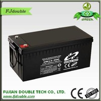 Best price sla dry battery 12v 200ah solar panel rechargeable battery for UPS system made in China
