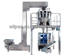 snack food automatic weighing and packing machine