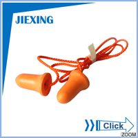Wholesale noise proof safety silicone ear plugs
