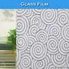 S025 PVC Material Newest Colored Glass Window Decorative Film