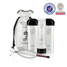 OEM/ODM advertisement for shampoo with natural ginseng formula use for hair treatment with free sample