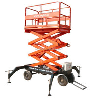 mobile tire wheel hydraulic lift elevator drawing