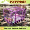 Hot sale popular removable cute Dog Crate, Dog Cage, Dog House dog pen with wheels