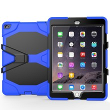 2016 Factory Newest Silicone PC Shockproof Case for iPad Air 3 9.7inch Case